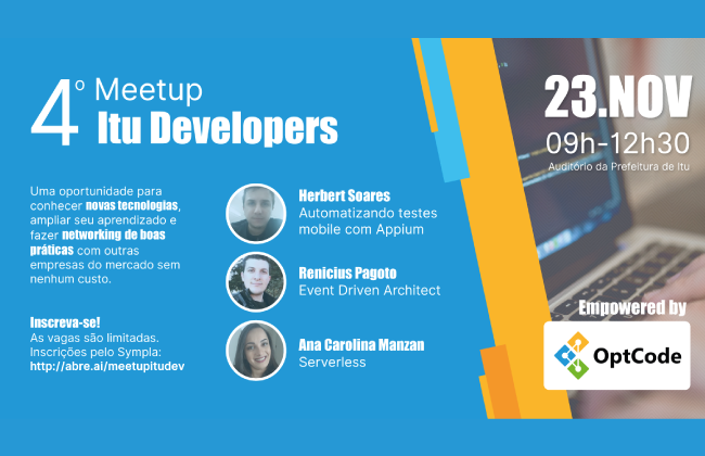 4º Meetup Itu Developers