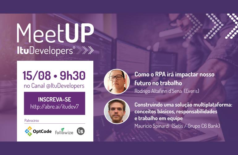 Meetup ItuDev